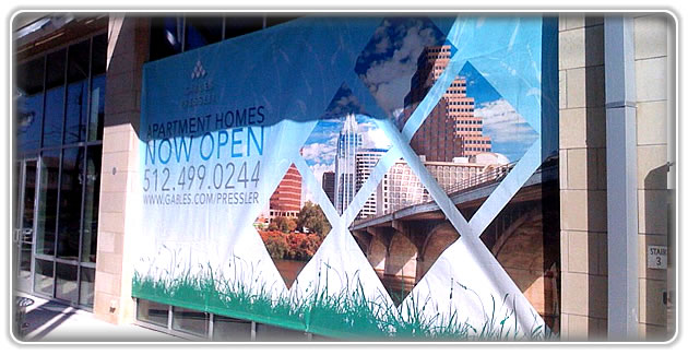 Banner Installation Service Solutions Houston
