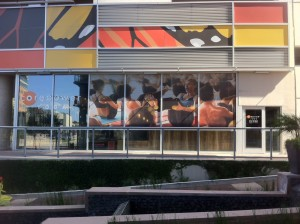 improve your brand with window graphics